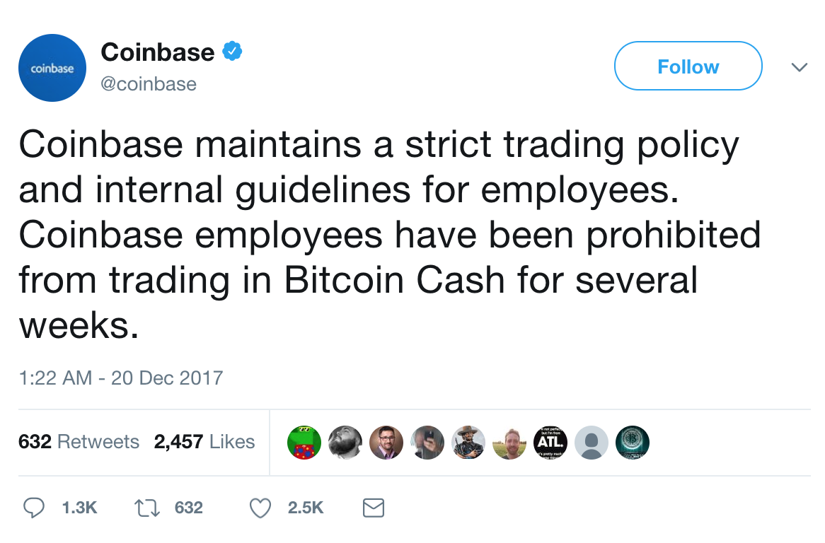 Class Action Complaint Accuses Coinbase of 'Insider Trading'