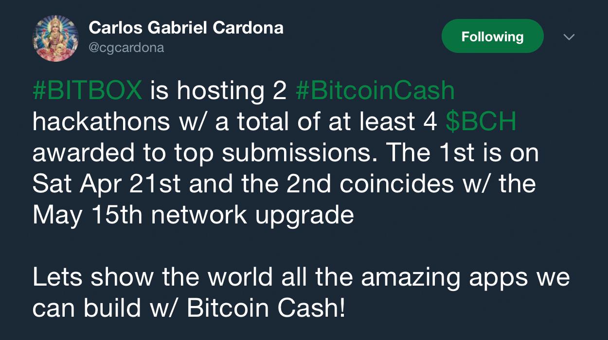 Bitbox Project Hosts Two Bitcoin Cash Hackathons