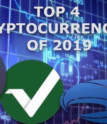 Top Four Cryptocurrencies of 2019